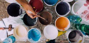 Image Arte: Técnicas mixtas de pintura